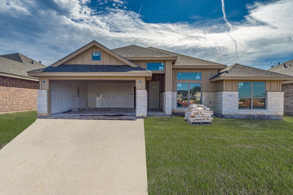 San Angelo Custom Home Builder - 7401 Wildflower Way, Abilene TX 79602