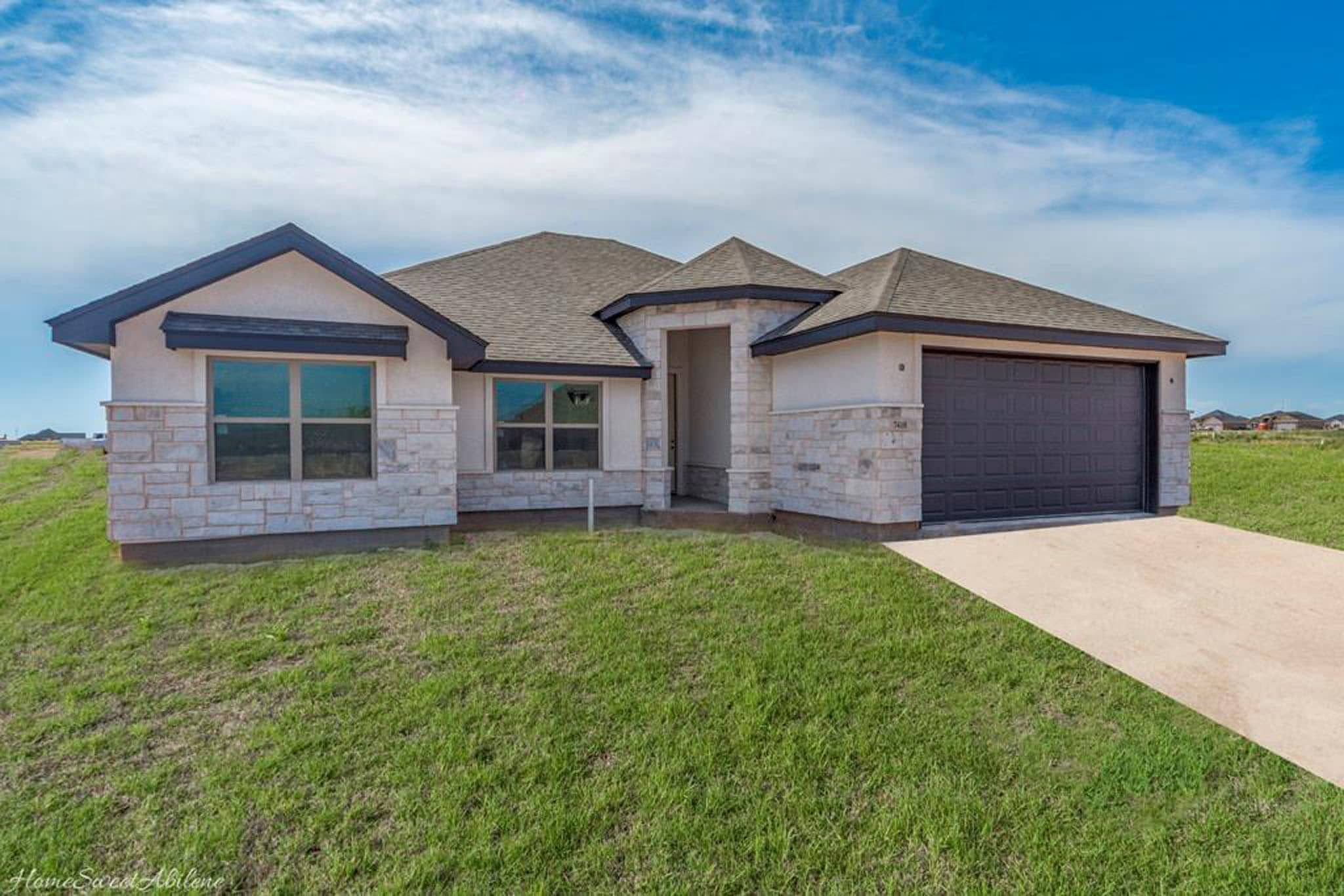 San Angelo Custom Home Builder - 7410 Wildflower Way, Abilene TX 79602