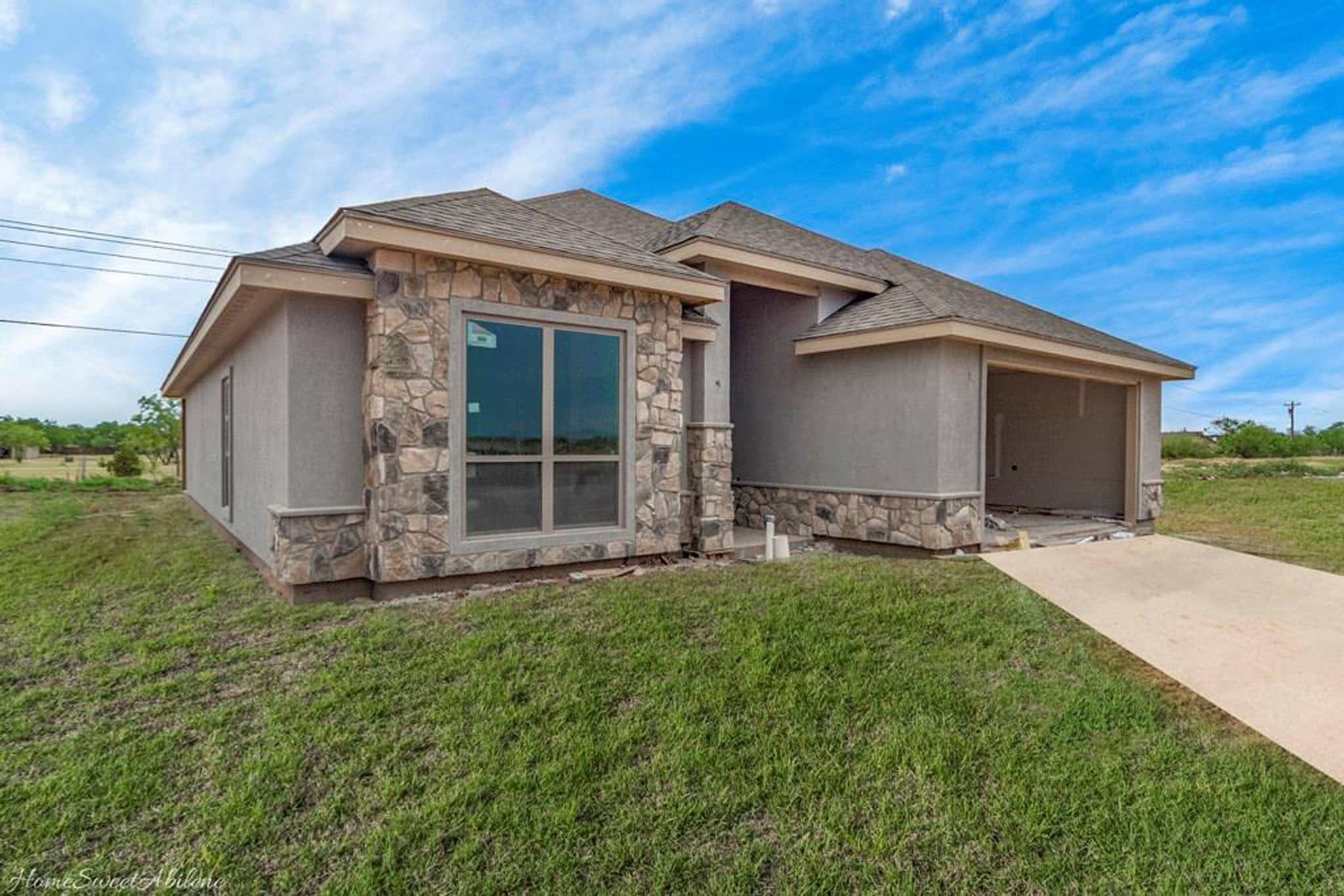 San Angelo Custom Home Builder - 7421 Wildflower Way, Abilene TX 79602